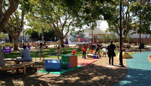 After a dramatic transformation, Pogo Park in Richmond is once again a place for kids to play.
