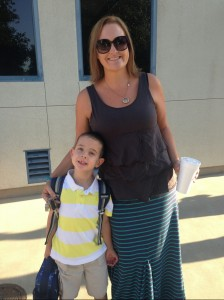 Jen Smith, a teacher in Clovis, ends up spending hours each week on extra food prep for her son, Marty Smith, and hundreds of dollars annually on specialty foods that her son isn't allergic to. Photo courtesy of Jen Smith