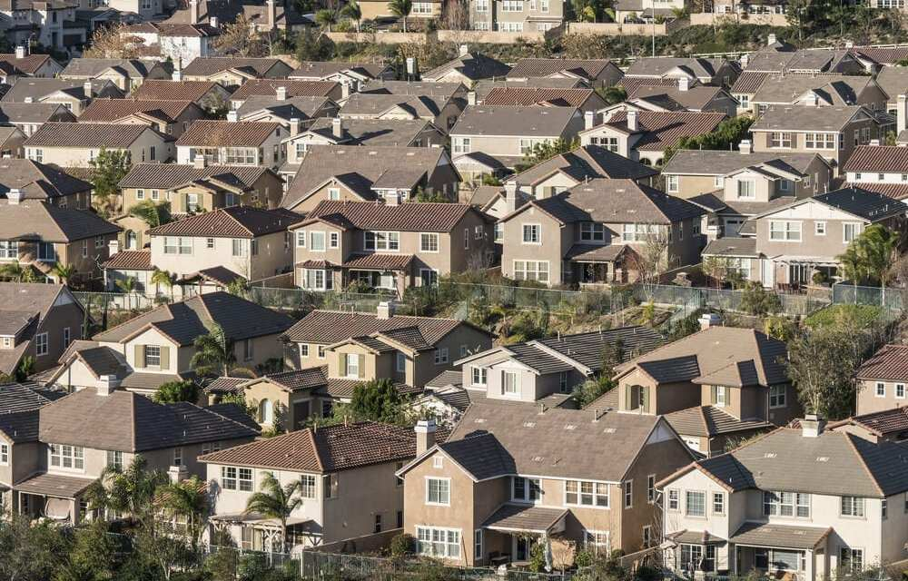 Middle-class households priced out of California