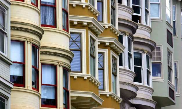What city had the biggest price gain? Detroit or San Francisco?