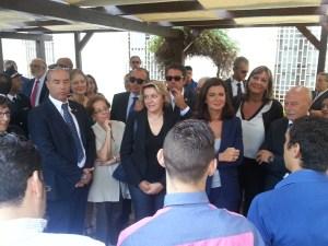 Laura Boldrini a Palermo