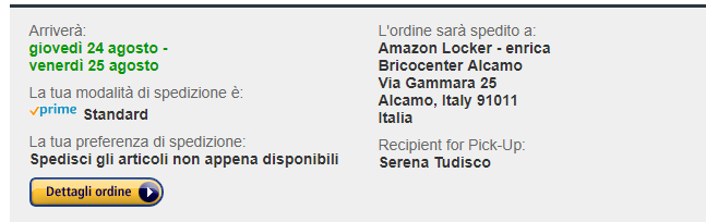 amazon locker alcamo
