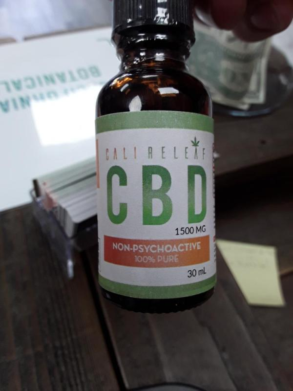 Full spectrum CBD 1500 mg