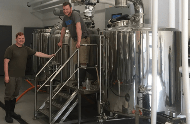 the two guys who started it all at calibration brewery