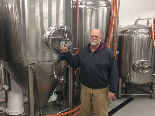 jack the brewer with his beer brewer