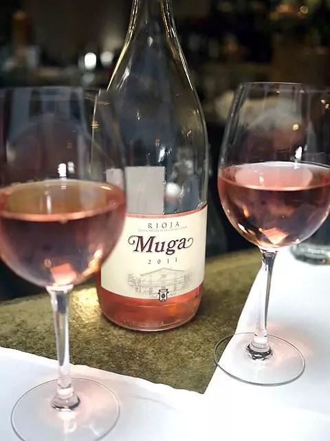 Bodegas Muga Rose wine from Rioja, Spain