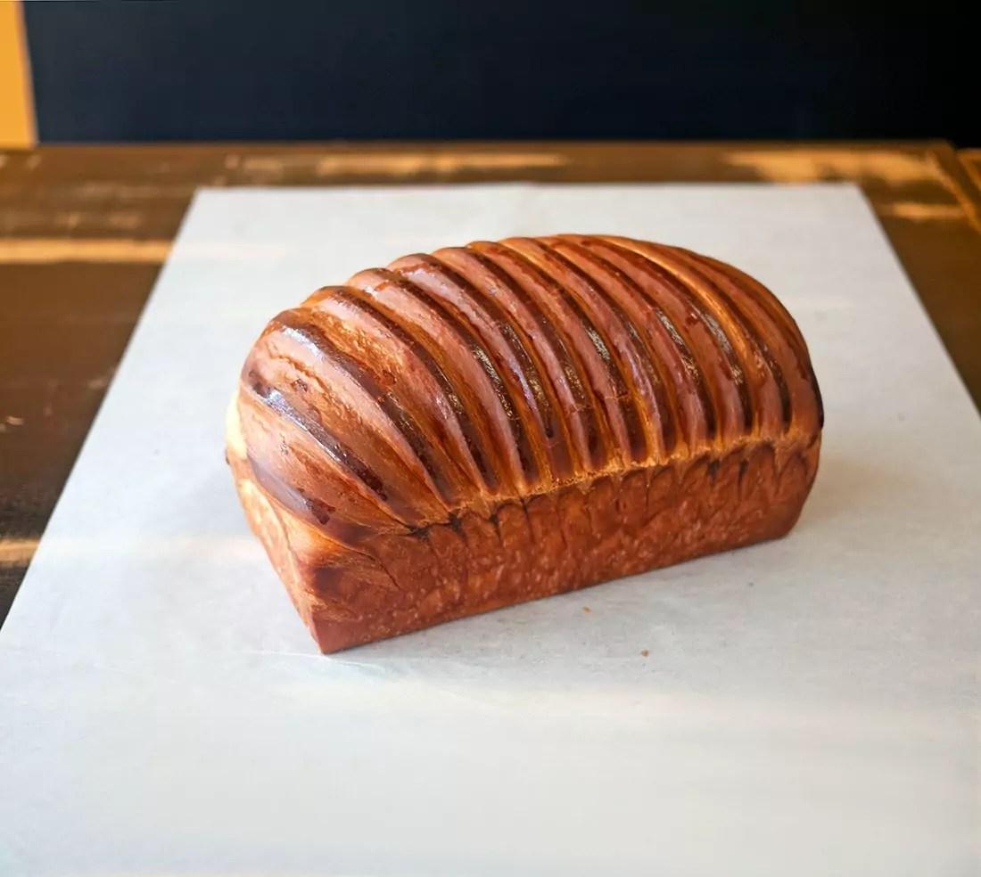 Brioche Sourdough Loaf at Bree'osh Cafe & Bakery in Montecito