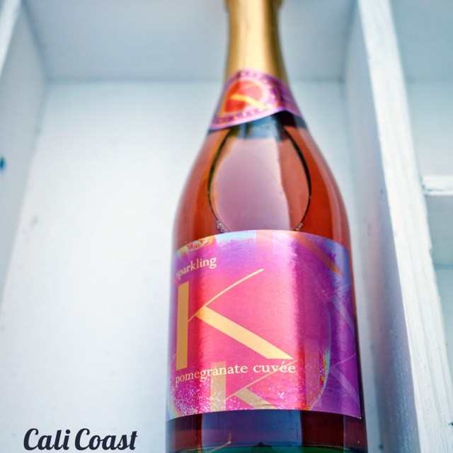 Carmody-McKnight Sparkling Wine: Citron and Pomegranate Cuvée
