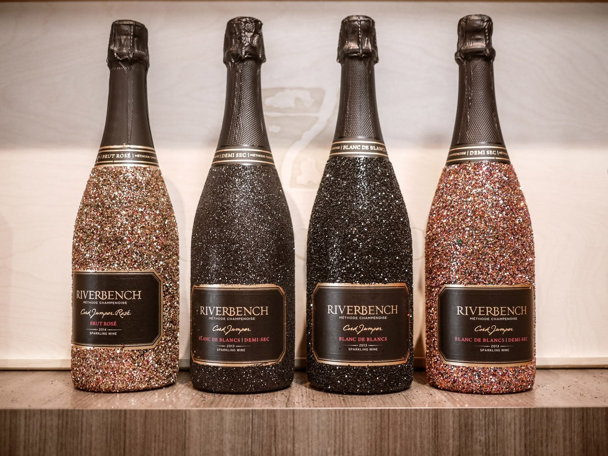 Riverbench Winery Sparkling Wine on Foxen Canyon Wine Trail