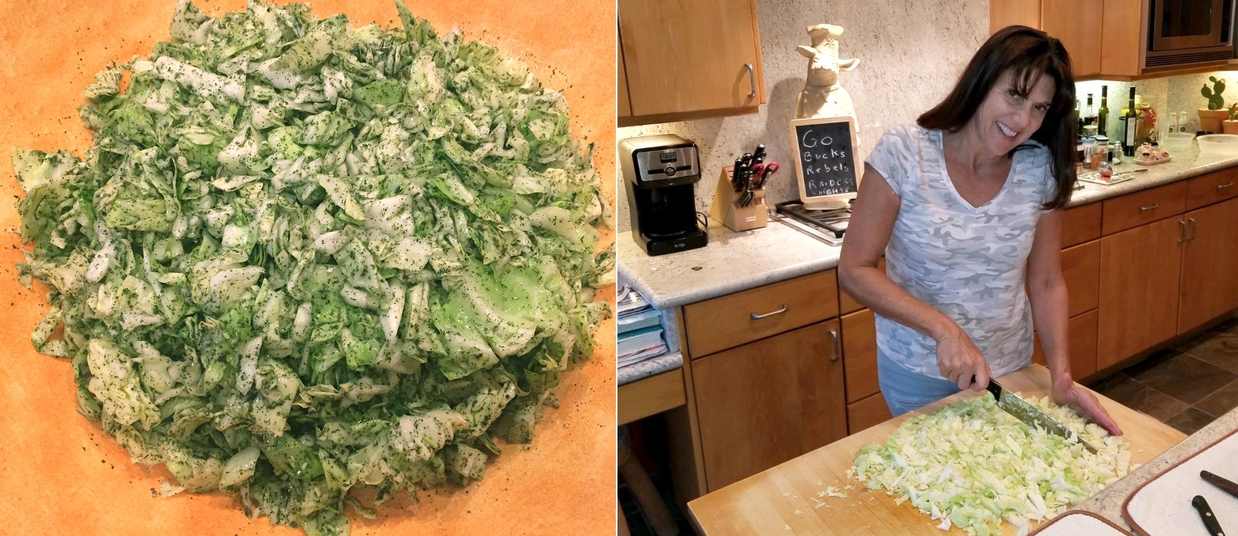 Cousin's Salata Malfouf