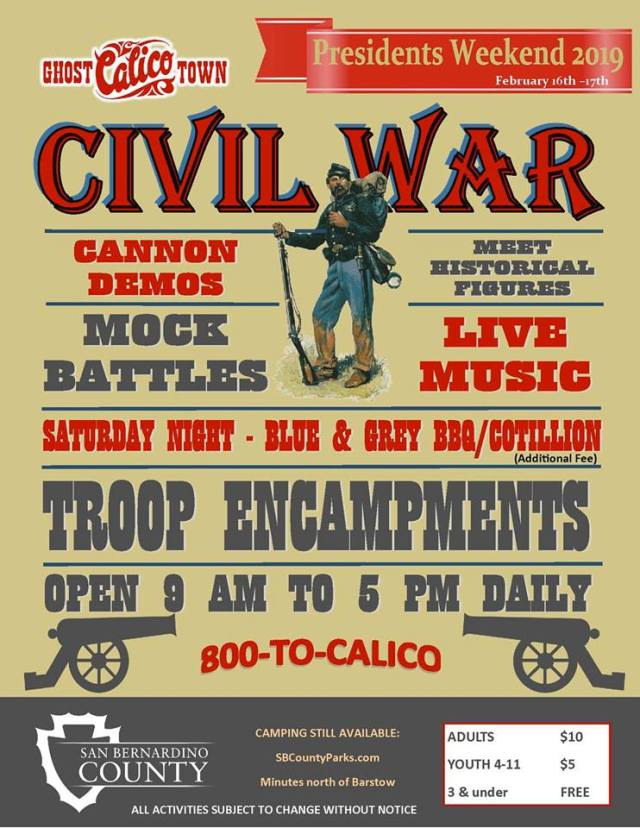 Calico Civil War Days - Calico Ghost Town