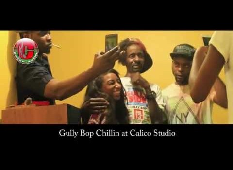 Gully Bop Chillin at Calico Studio New York