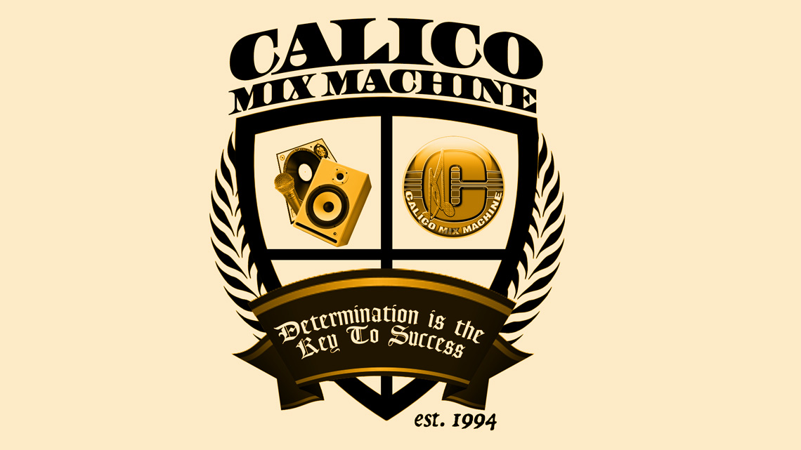 Calico Logo Crest – Calico Mix Machine, LLC