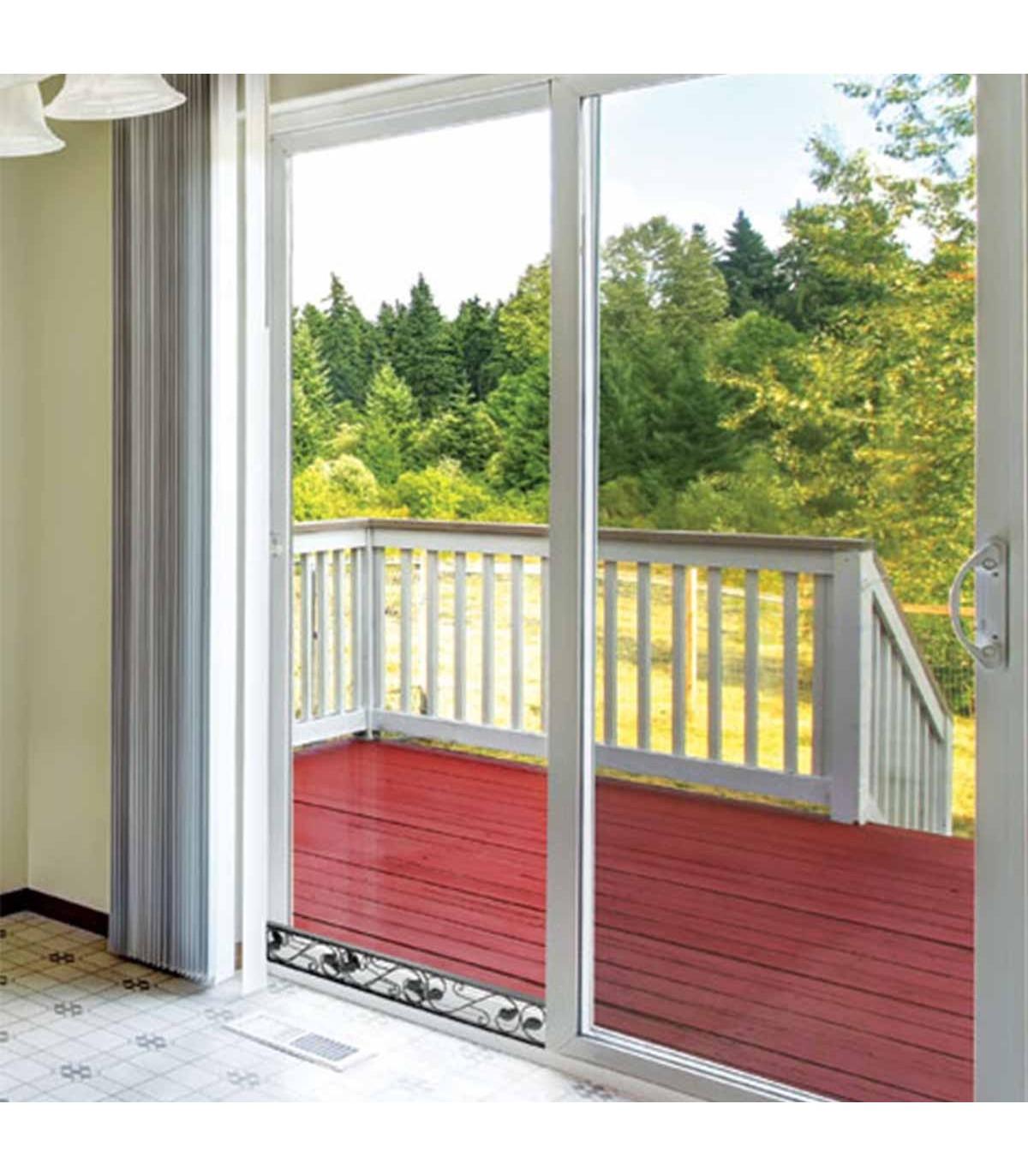 barre de securite decorative pour baie vitree