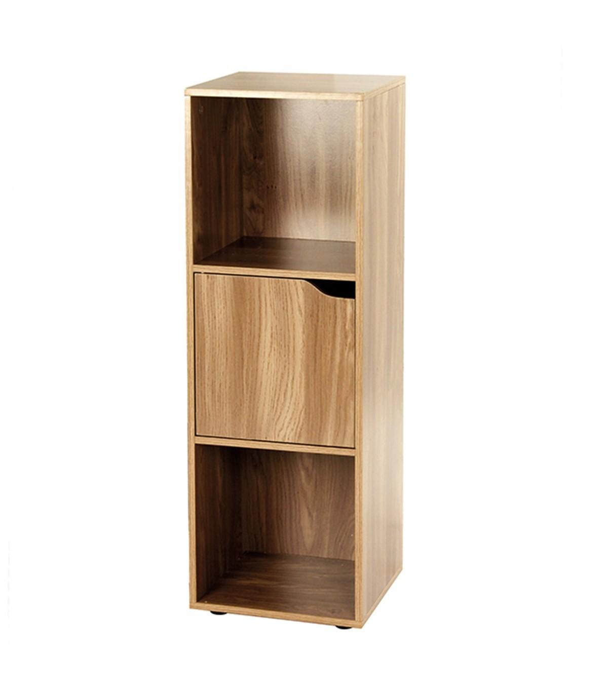 meuble 3 cases avec une porte