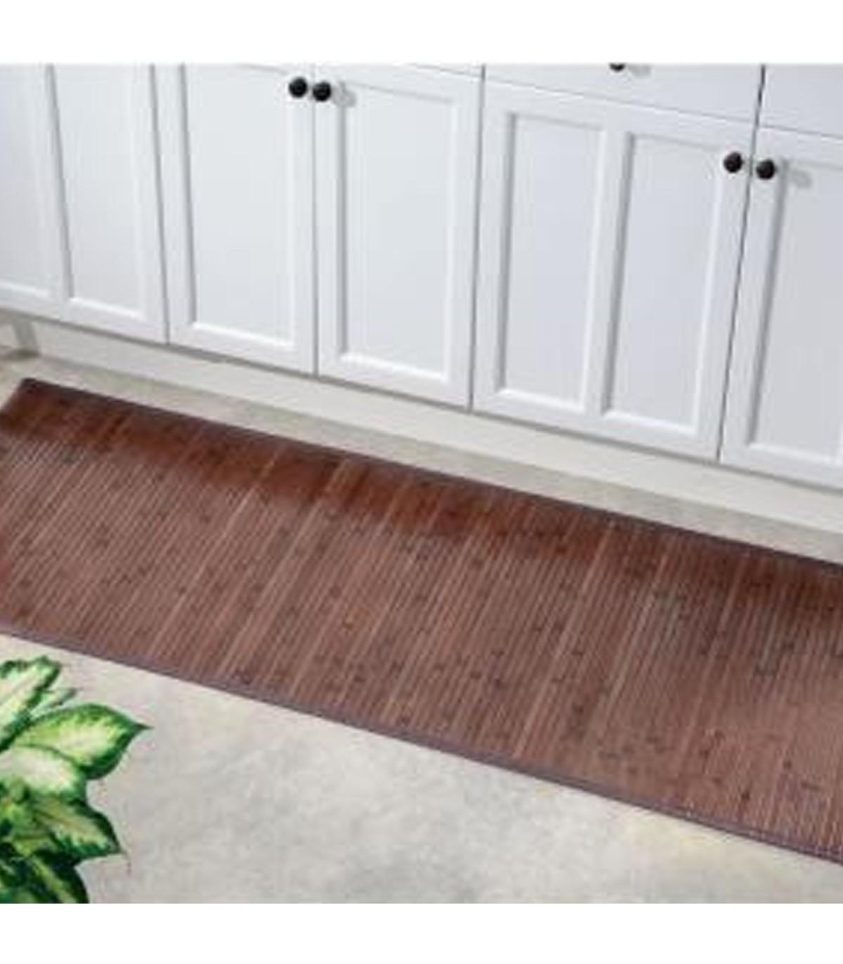rutschsichere bambus badezimmer teppich 62 x 50 cm