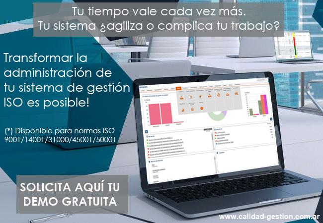 SOFTWARE PARA SISTEMAS DE GESTION ISO 9001 - ISO 14001 - ISO 45001 - ISO 50001 width=