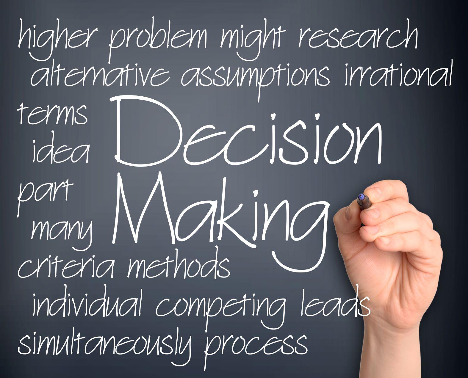 Virtual Decision Making Workshop