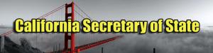 Secretary of State Apostille