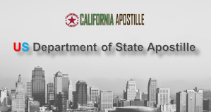 US Department of State Apostille