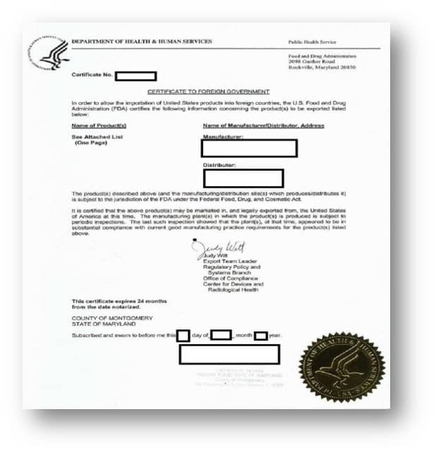 Certificate to foreign government california apostille for Us department of state authentications cover letter