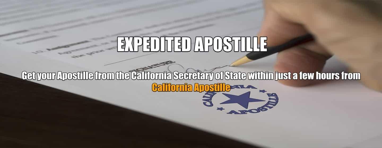Expedited Apostille