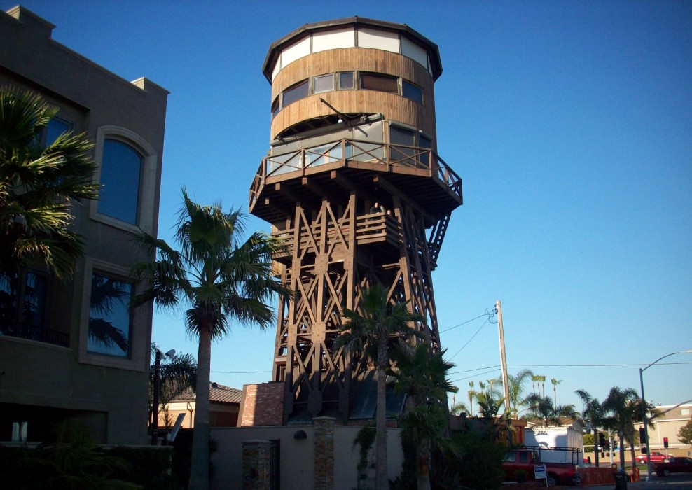 Take a look inside the PCH water tower house (and it's for rent, too)