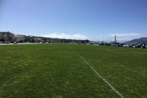 Marina Green Park San Francisco CA California Beaches