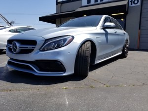 Gilroy Client Upgrades Mercedes-Benz C63 Audio System