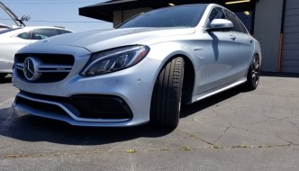 Mercedes-Benz C63 Audio