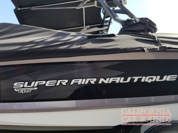 Campbell Client Gets Super Air Nautique Stereo System Upgrade