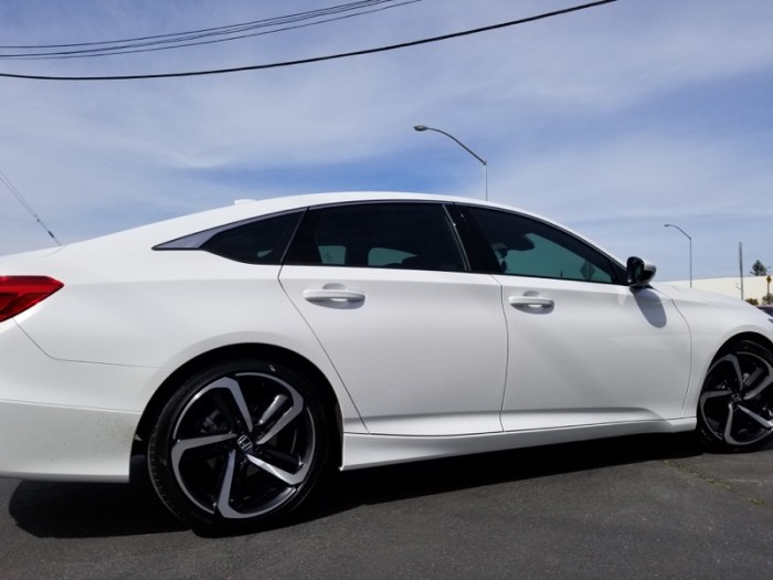 Honda Accord Tinted