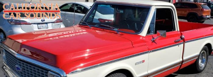 Chevy C10 Audio