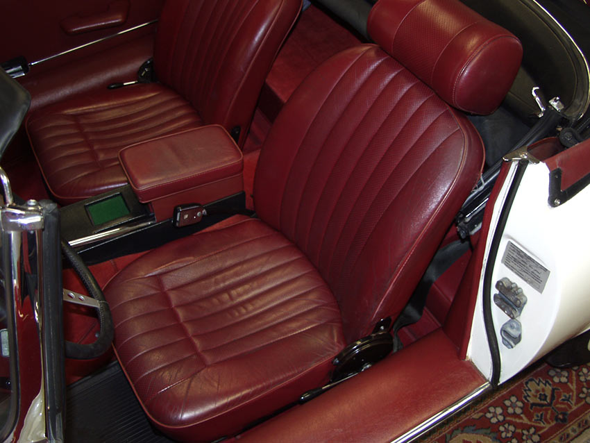 Image result for connolly leather seats
