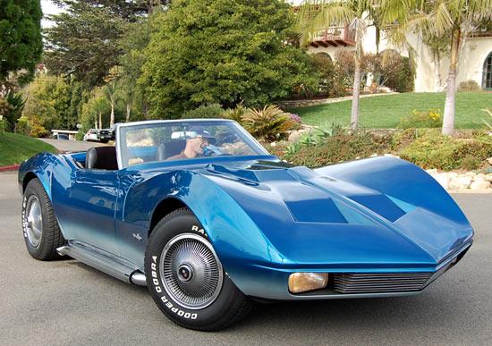 Shark Mako Corvette 1968