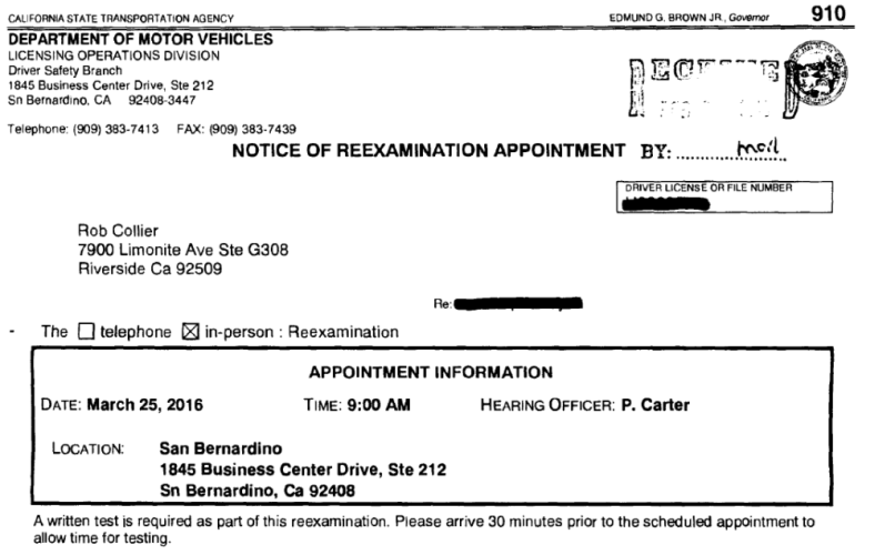 Ca Dmv Motorcycle Permit Appointment | Reviewmotors co