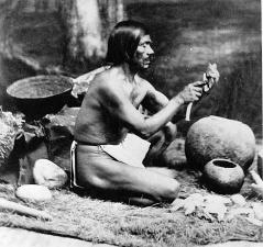 Rafael Solares, Chumash from Santa Inés.