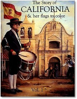 The Story of California & Her Flags to Color