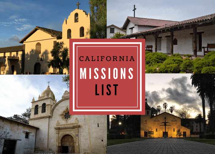 Map Of California Missions Locations.California Mission List Photos Locations Founders