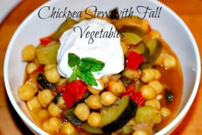 Chickpea Soup with Fall Vegetables