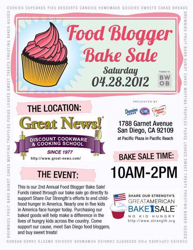 school bake sale flyer - Anta.expocoaching.co
