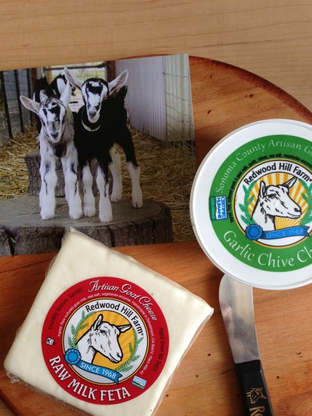 Raw Feta from Red Hill Farms