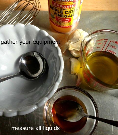 Hony-Cider Vinegar Recipe