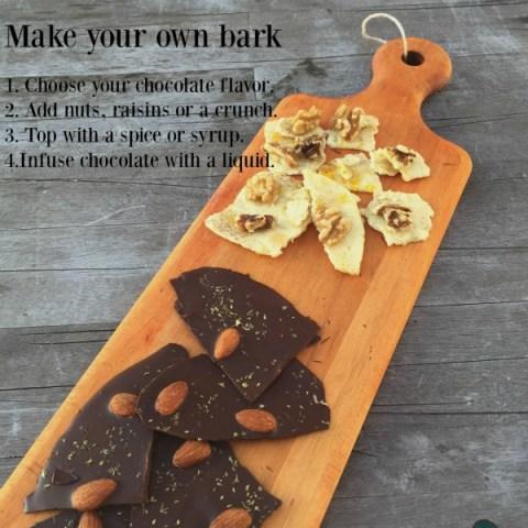 Bark Board Display