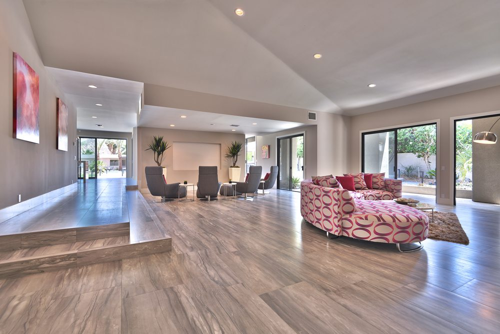THROUGH GREAT ROOM 1000px Extraordinary Home of the Week: La Quinta Contemporary