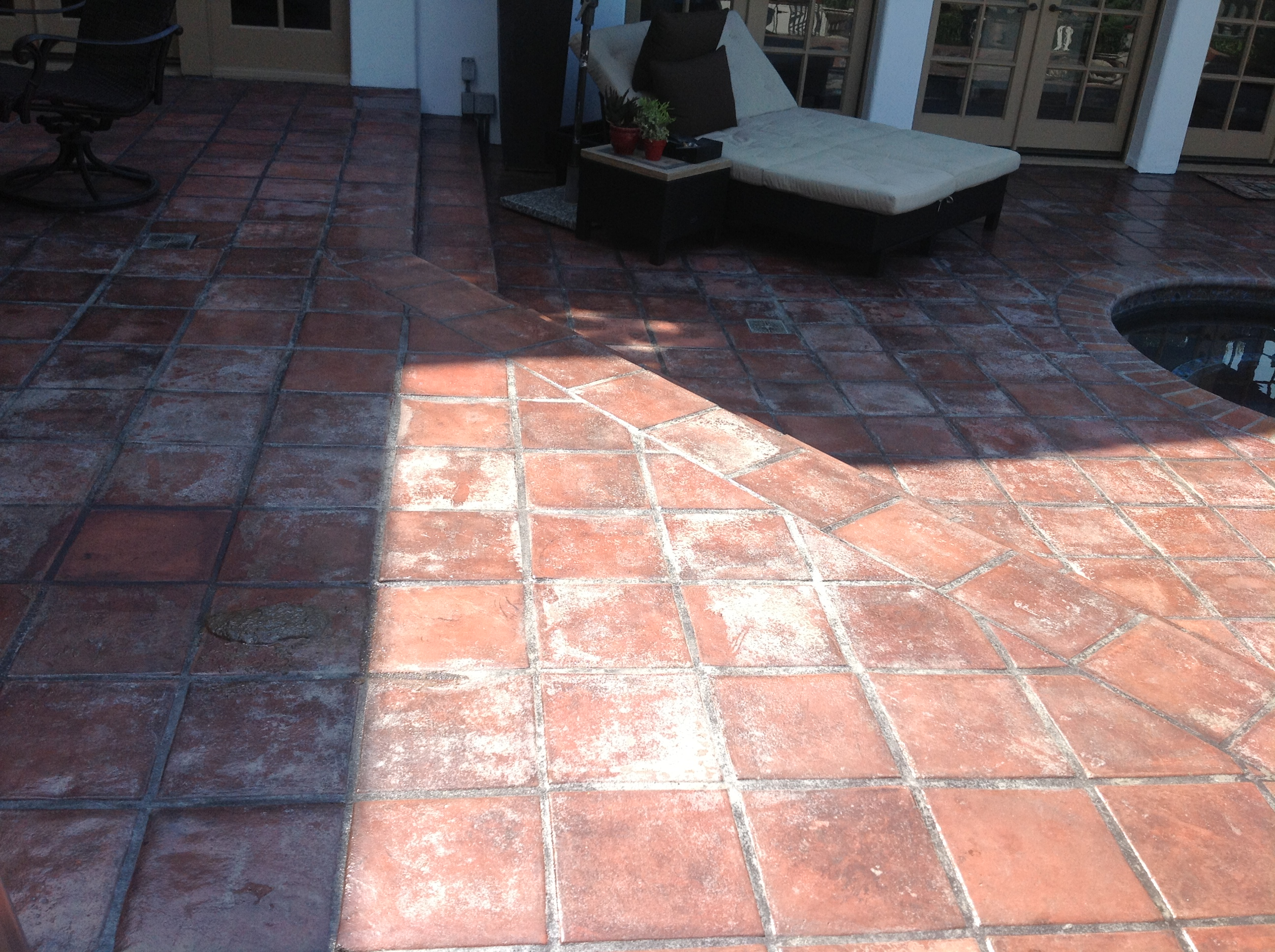Oops Your Lacquer Sealer Failed Again Mexican Tile