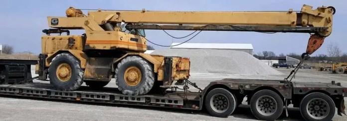 Crane Transport in California
