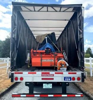 Elite Farm Equipment Shipping in California