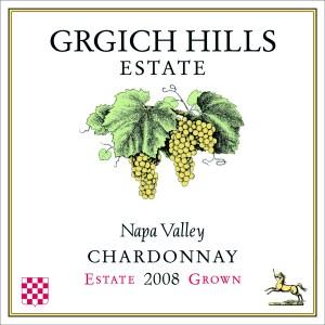 Grgich Hills Estate Chardonnay 2008 Napa Valley hvidvin
