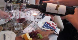 vinsmagning vinflaske